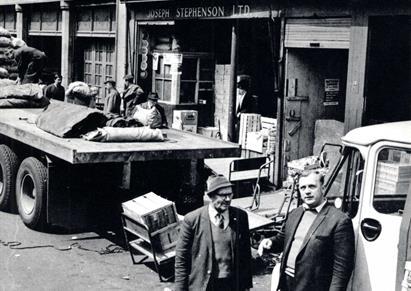 Ou old market stalls