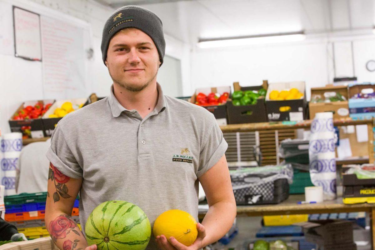 JR Holland fresh melons
