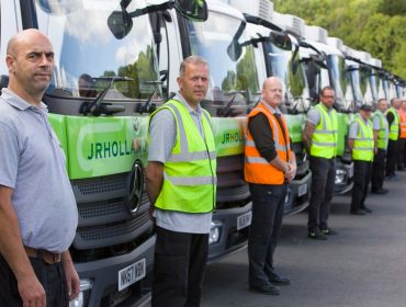 Our delivery fleet - JR Holland
