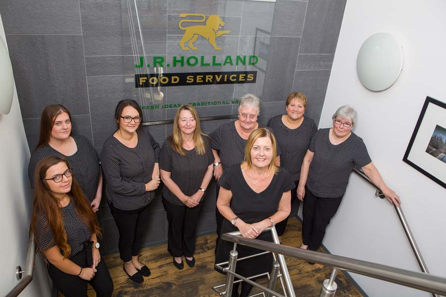 JR Holland Telesales staff members