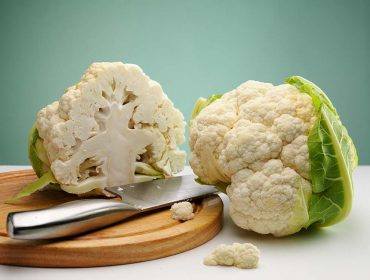 Organic produce wholesale - ripe cauliflower