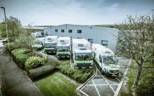 JR Holland warehouse vans large